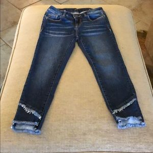 Miss Me Girls Ankle Skinny Jeans